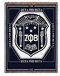 Zeta Phi Beta Tapestry Throw