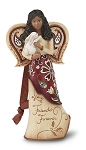 Friends Forever Ebony Angel Figurine
