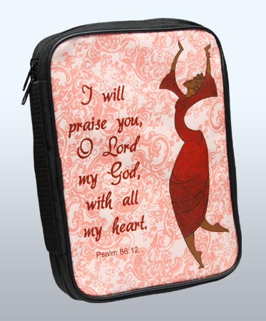 I  Will Praise Bible Cover/Book Organizer