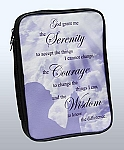 The Serenity Prayer Bible Cover/Book Organizer