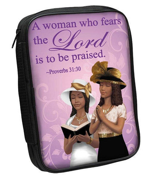 A Woman Who Fears the Lord Bible Cover