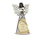Friendship Elements African Amercan Angel Figurine