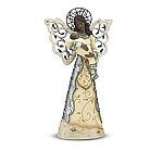 Blessings Elements African Amercan Angel Figurine