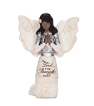 Kneeling and Praying Angel