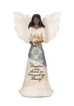 Daughter Elements Black Angel Figurine