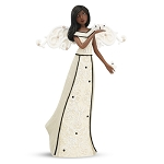 Ebony Serenity Angel Figurine