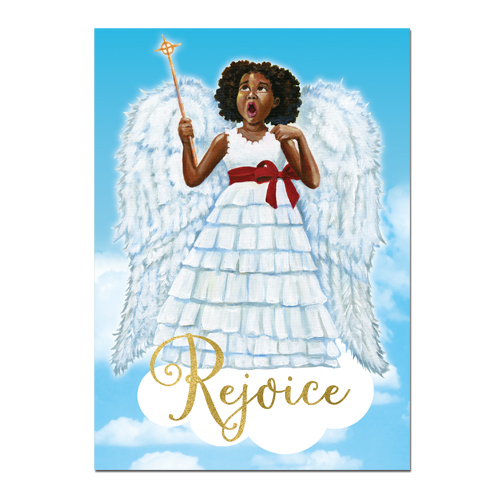 Little Angel African American Cards