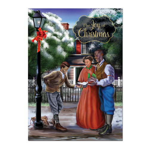 Joy of Christmas African American Christmas Cards