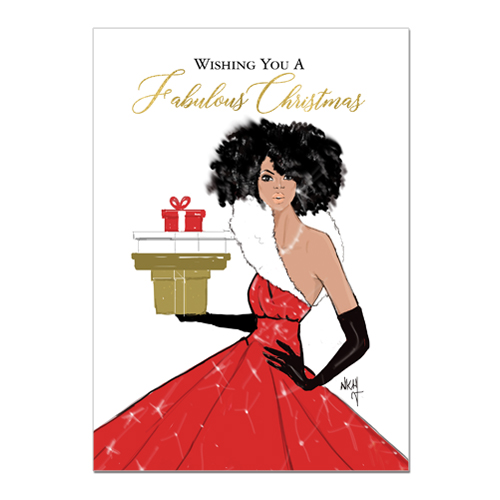 Fabulous Christmas African American Christmas Cards