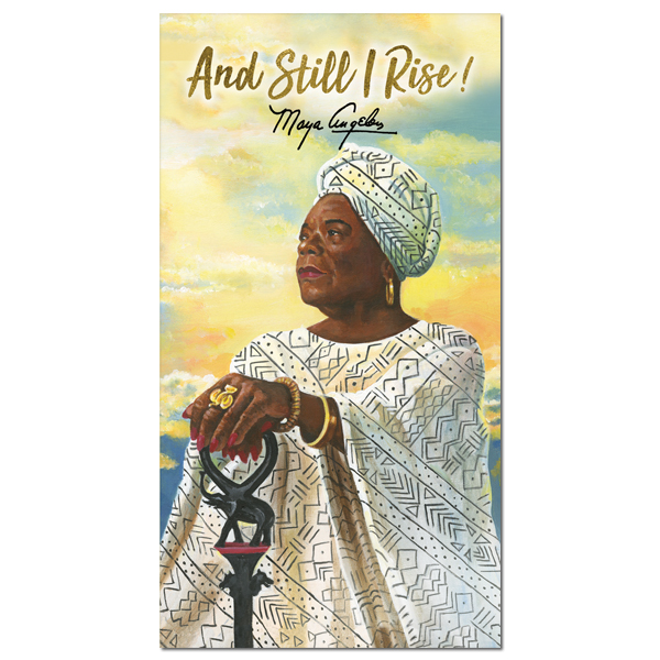 And Still I Rise Maya Angelou 2019 - 2020 African American Checkbook Planner