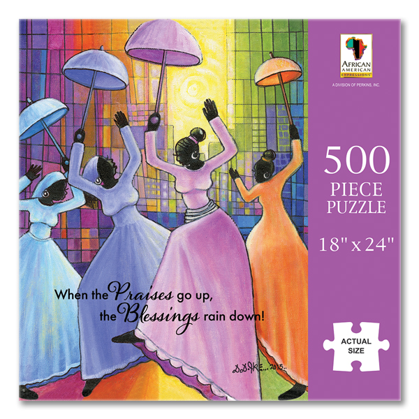 Praises Go Up African American Puzzle