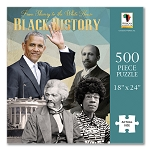 From Slavery To The Whitehouse Black History Puzzle