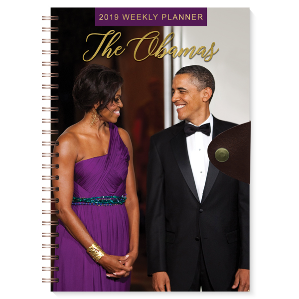 The Obamas 2019 Weekly Planner