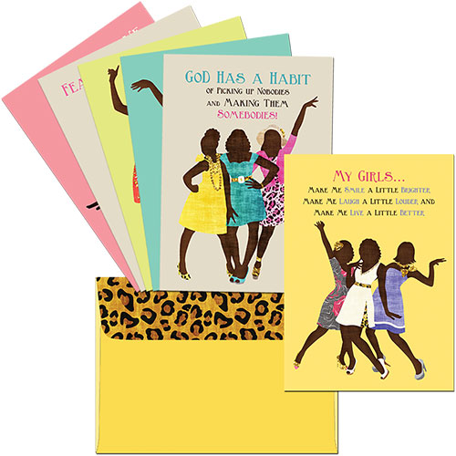 All Occasion Boxed Greeting Cards (Sister Friends Collection)
