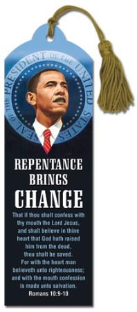Barack Obama Change Bookmark