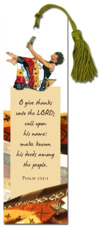 O Give Thanks - African American Bookmark