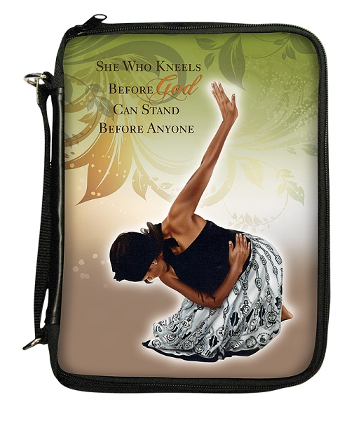 She Who Kneels Bible Cover