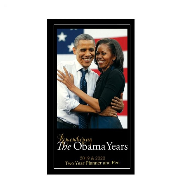 The Obama Years 2019 - 2020 Checkbook Planner