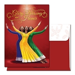 Glory Blessings & Honor - African American Christmas Cards