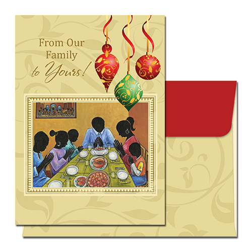 From Our Family To Yours - African American Christmas Cards