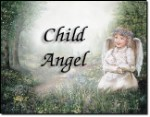 Girl Angel White - First Name Origin Print
