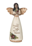 Friends Ebony Angel Figurine
