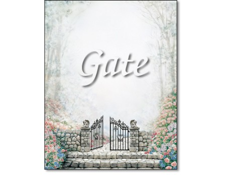 The Gate-First Name Origin Print
