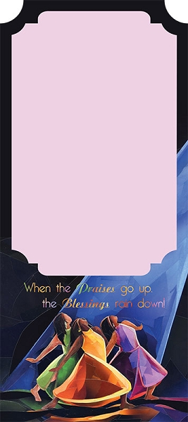 Praises Go Up Magnetic Note Pad