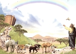 Noah's Ark First Name Origin Print