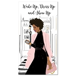 Wake Up Dress Up Show Up 2019 2020 Checkbook Planner