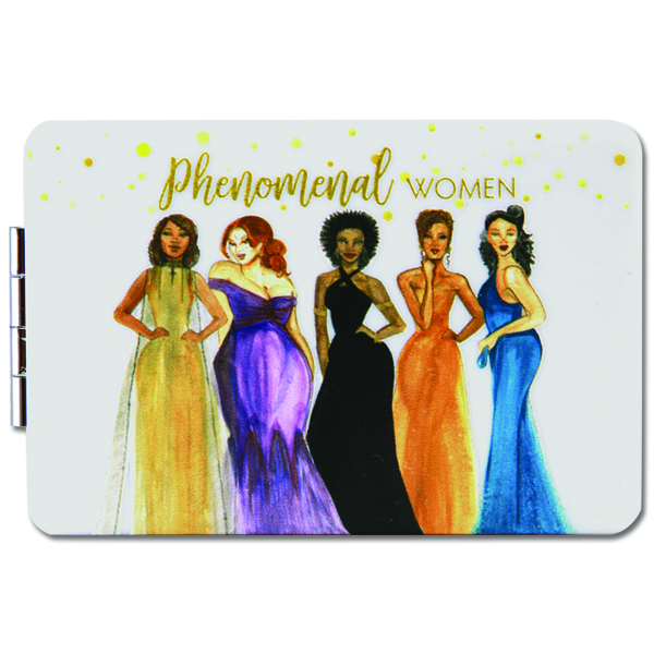 Phenomenal Woman Compact Mirror