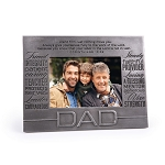 Dad Engraved Photo Frame