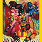 Color My Soul Poncho Brown African American 2019 Wall Calendar