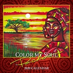 Color My Soul 2020 African American Calendar