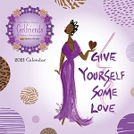 Girlfriends A Sisters Sentiment Cidne Wallace 2021 Wall Calendar