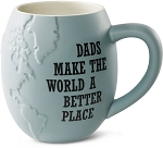 Dads Make the World A Better Place Jumbo Coffee Mug