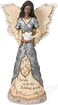 Holiday Friends Elements Black Angel Figurine