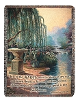 The Hour of Prayer Thomas Kinkade Throw