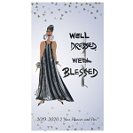 Well Dressed Well Blessed 2019 - 2020 Two Year Checkbook Planer