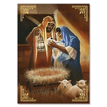 Nativity African American Christmas Cards