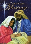 Christmas Blessings Nativity African American Christmas Cards
