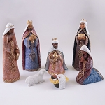African American Nativity Figurine Set