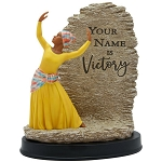 Your Name Is Victory African American Figurine