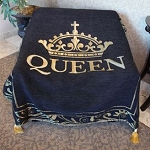 Queen Tapestry Throw