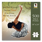 She Who Kneels Jigsaw Puzzle