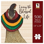 Living the Blessed Life African American Puzzle