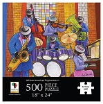 Jazz African American Jigsaw Puzzle