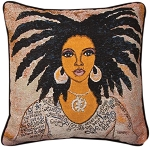 Talk To Me Tapestry Pillow