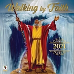 Walking by Faith 2021 African American Wall Calendar
