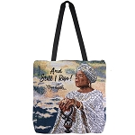 And Still I Rise Maya Angelou Tapestry Tote Bag